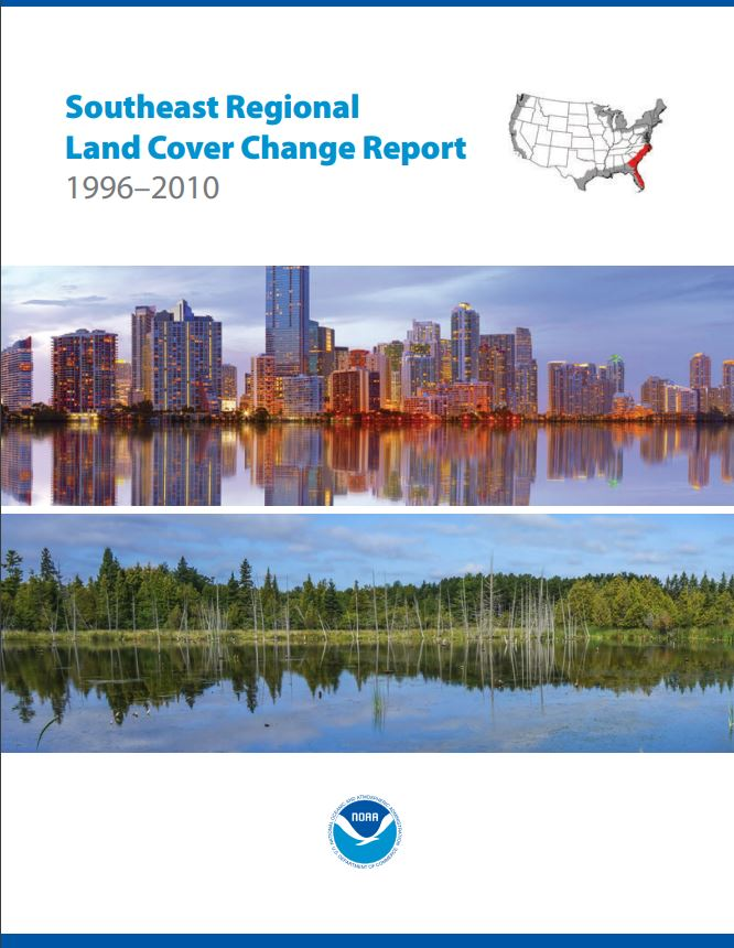 Thumbnail of Southeast Region Land Cover Change Report