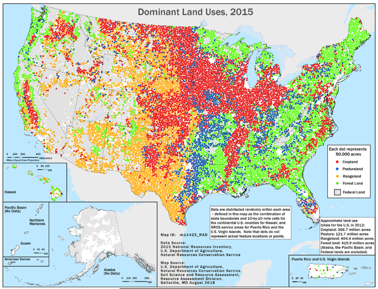 Dominant Land Uses 2015 Map Thumbnail