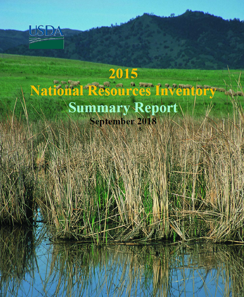 2015 National Resources Inventory Summary Report Cover Page