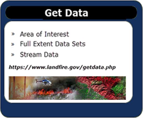 Get Data: Area of Interest. Full Extent Data Sets. Stream Data