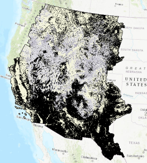 NLCD 2016 Big Sagebrush Shrubland Fractional Component